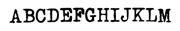 Urania_Piccola_II Font UPPERCASE