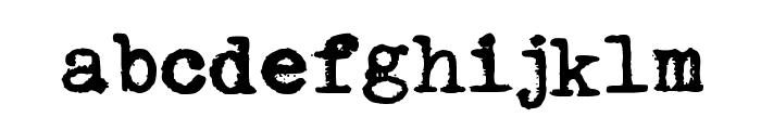 Urania_Piccola_II Font LOWERCASE