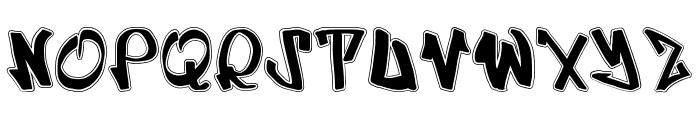UrbRapper Font UPPERCASE
