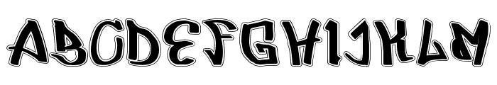 UrbRapper Font LOWERCASE