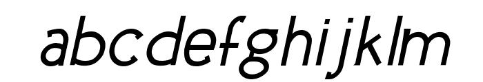 Urban Elegance Bold Italic Font LOWERCASE