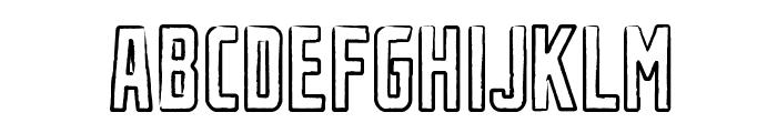 Urban Rubber Font UPPERCASE