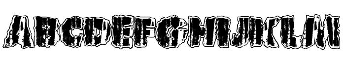 UrbanAnimal Font UPPERCASE