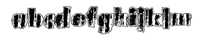 UrbanAnimal Font LOWERCASE
