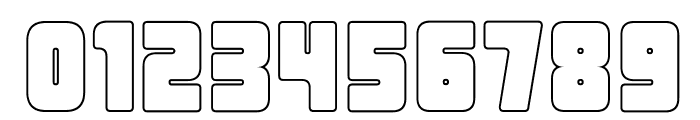 UrbanConstructed-Outline Font OTHER CHARS
