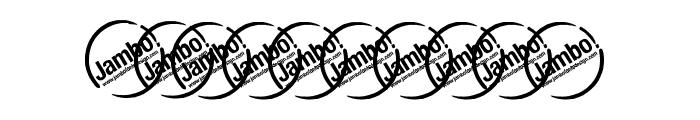 UrbanElegance-BoldItalic Font OTHER CHARS