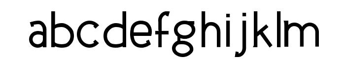 UrbanElegance-Bold Font LOWERCASE