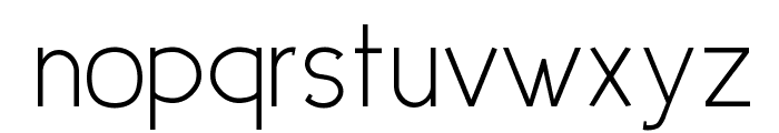 UrbanElegance Font LOWERCASE