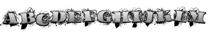 UrbanLabels Font UPPERCASE