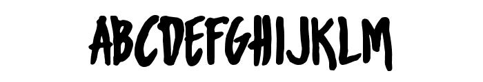 UrbanOilTypeface Font UPPERCASE