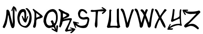 Urban&Slick Font UPPERCASE
