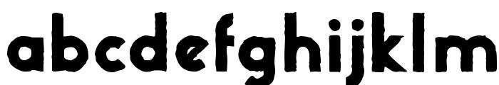 UrbanStone Font LOWERCASE