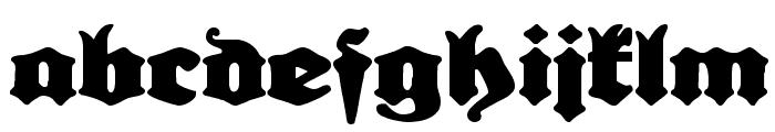 Urdeutsch Font LOWERCASE