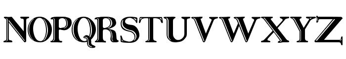 Ursa SerifEngraved Font UPPERCASE