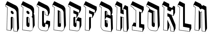 UrsaCape-Regular Font LOWERCASE