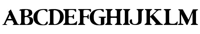 UrsaSerif Bold Font UPPERCASE