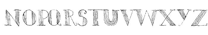 Ursula Capitals Font LOWERCASE