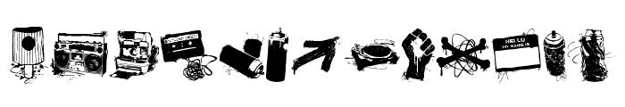 urbanlife Font LOWERCASE