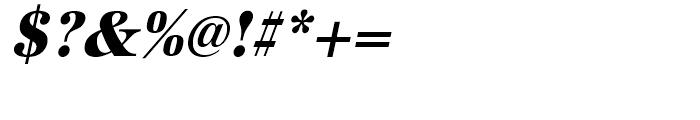 URW Antiqua Extra Bold Narrow Oblique Font OTHER CHARS