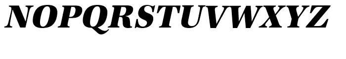 URW Antiqua Extra Bold Narrow Oblique Font UPPERCASE