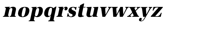 URW Antiqua Extra Bold Narrow Oblique Font LOWERCASE