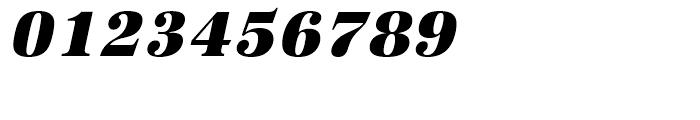 URW Antiqua Ultra Bold Narrow Oblique Font OTHER CHARS