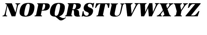 URW Antiqua Ultra Bold Narrow Oblique Font UPPERCASE