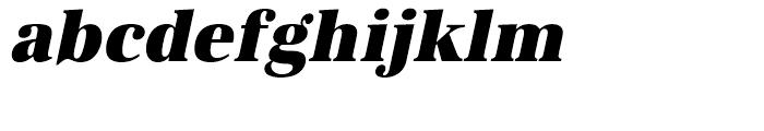URW Antiqua Ultra Bold Narrow Oblique Font LOWERCASE