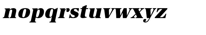 URW Antiqua Ultra Bold Oblique Font LOWERCASE