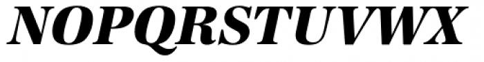 URW Antiqua ExtraBold Italic Font UPPERCASE
