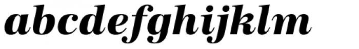 URW Antiqua ExtraBold Italic Font LOWERCASE