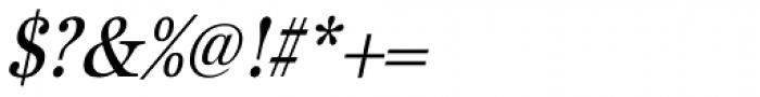 URW Antiqua ExtraNarrow Oblique Font OTHER CHARS