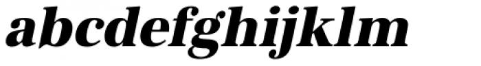URW Antiqua Narrow ExtraBold Oblique Font LOWERCASE
