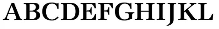 URW Antiqua SC Medium Font UPPERCASE