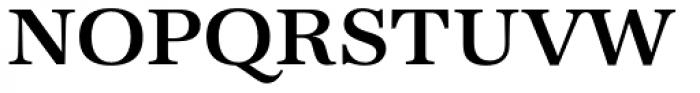 URW Antiqua Wide Medium Font UPPERCASE