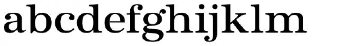 URW Antiqua Wide Medium Font LOWERCASE