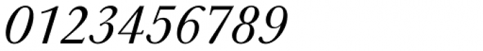 URW Baskerville Italic Font OTHER CHARS