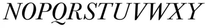 URW Baskerville Italic Font UPPERCASE