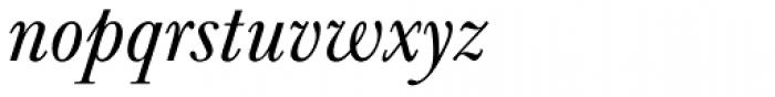 URW Baskerville Italic Font LOWERCASE