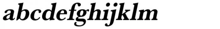 URW Baskerville Narrow Bold Oblique Font LOWERCASE