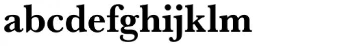 URW Baskerville Narrow Bold Font LOWERCASE