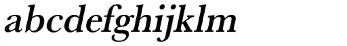 URW Baskerville Narrow Medium Oblique Font LOWERCASE