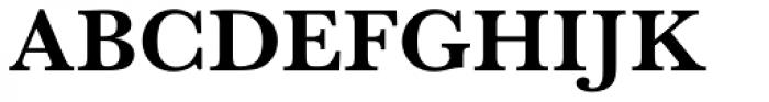 URW Baskerville Wide Bold Font UPPERCASE