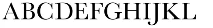 URW Baskerville Font UPPERCASE