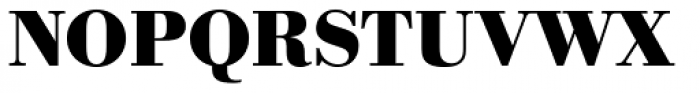 URW Bodoni Bold Font UPPERCASE