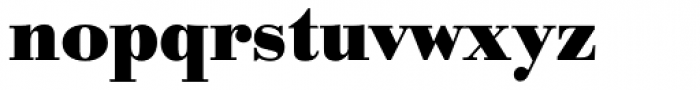 URW Bodoni Bold Font LOWERCASE