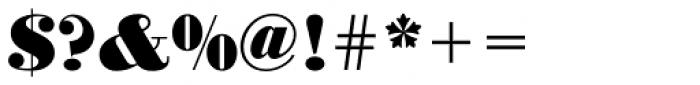 URW Bodoni ExtraBold Font OTHER CHARS