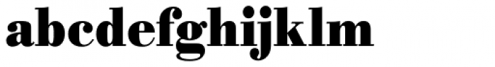 URW Bodoni ExtraNarrow Bold Font LOWERCASE