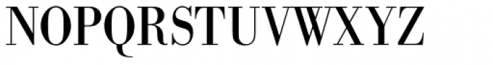 URW Bodoni ExtraNarrow Font UPPERCASE
