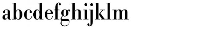 URW Bodoni ExtraNarrow Font LOWERCASE